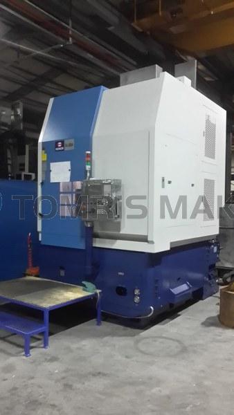 UNSERE NEUE 1000MM Durchmesser CNC VERTIKALE DREHMASCHINE