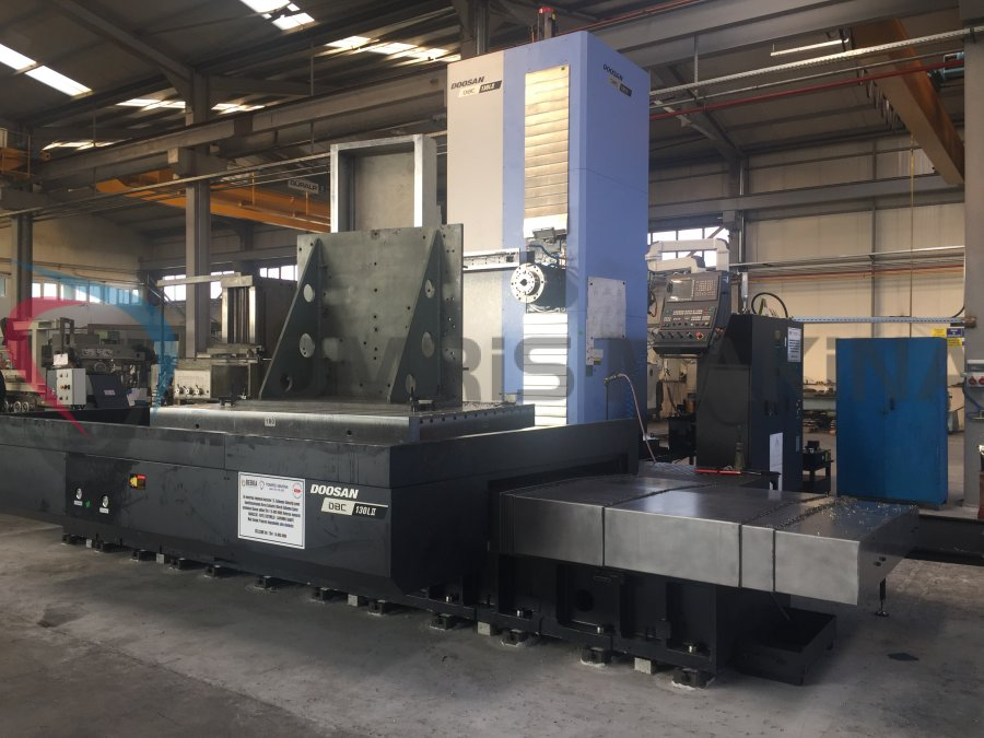 OUR NEW CNC LARGE HORIZINTAL BORING MILL MACHINE